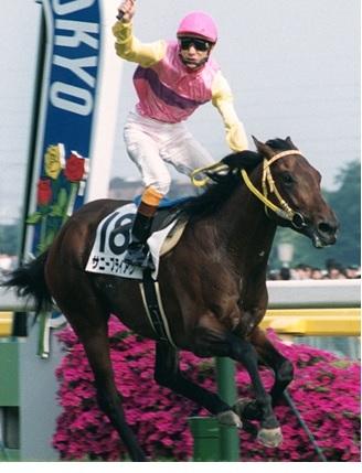 1997年のGI皐月賞とGI日本ダービーを制したサニーブライアン