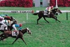 997年の日本ダービー2着となったシルクジャスティス